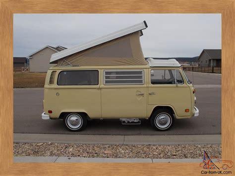 volkswagen westfalia 1978 1978 vw westfalia cer van