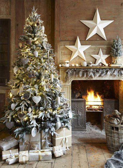 wunderschoene ideen fuer weihnachtsbaum deko archzinenet