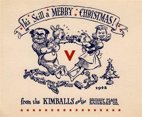 23 Creative Christmas Cards By Disney Legend Ward Kimball