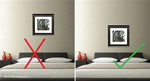 avoid this common picture hanging mistake utr deco blog With how to hang wall art in bedroom