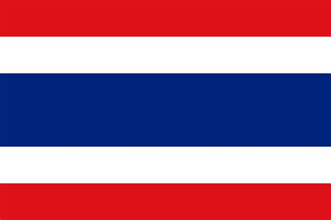 National Flag Of Thailand From Http