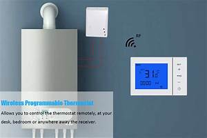 Rf Wireless Thermostat For Underfloor Heating Or Gas