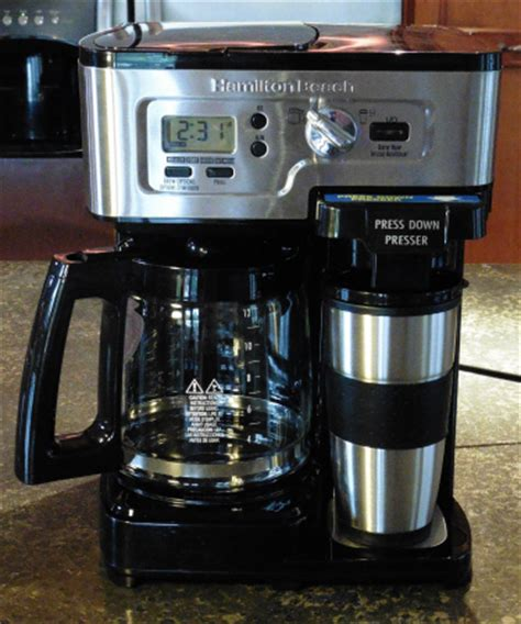Hamilton beach flexbrew is definitely one of the best multipurpose appliance we have ever used. Hamilton Beach 2-Way FlexBrew Coffee Maker Review