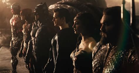 Justice League Snyder Reduce Trailer Units Up Zack Snyder ...