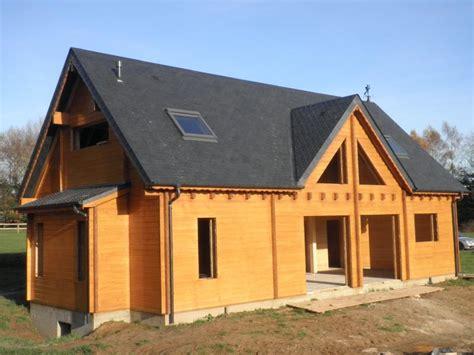 prix des maisons en bois ossature bois rondins