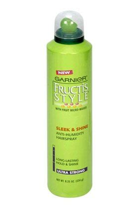 garnier fructis style sleek and shine anti humidity hair spray 17 best images about shoo and hair products on 9017