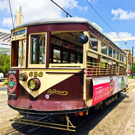 Ride the Dallas Trolley for Free