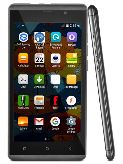 3g Mobile by Buy Intex 5 Inch 3g Mobile With Gorilla Glass At