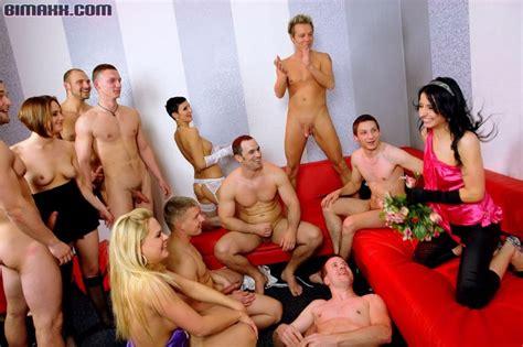 Nude Wedding Reception