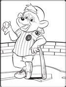 clark s crew chicago cubs coloring pages coloring