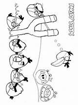 Angry Birds Coloring Slingshot Ausmalbilder Halloween Cartoon Template Malvorlagen Ausdrucken Kostenlos Zum sketch template