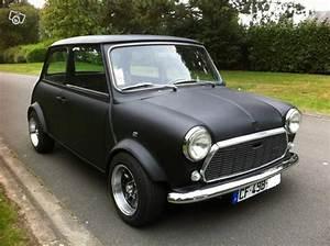 Mini Cooper Noir : mini austin 1000 noir mat restaur e kit mini cooper pinterest cars black and matte black ~ Gottalentnigeria.com Avis de Voitures