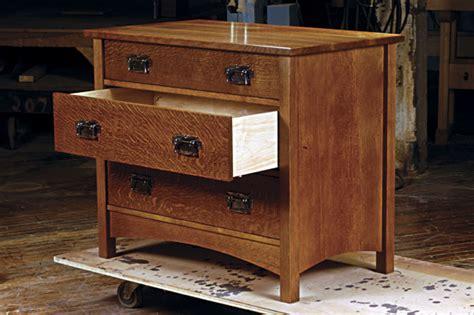 Build Our Arts & Crafts Dresser