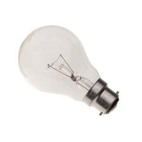 gls 150w b22d bc 240v clear service light bulb