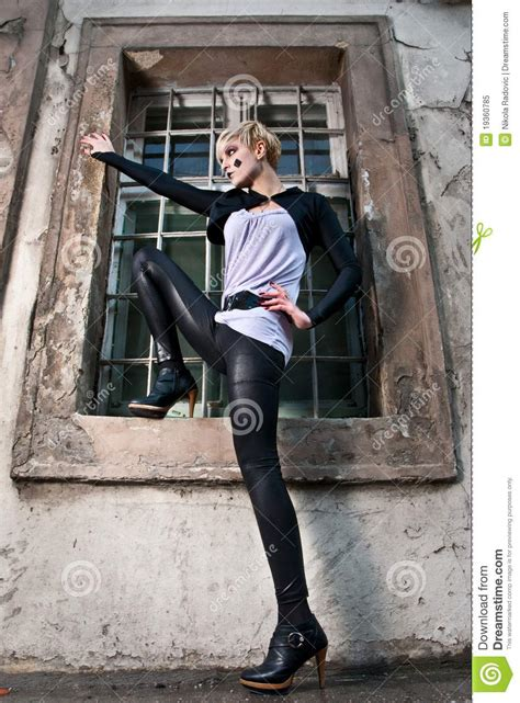 dynamic fashion model pose royalty  stock photo