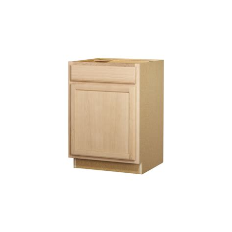 lowes unfinished bathroom cabinets shop project source 24 in w x 35 in h x 23 75 in d