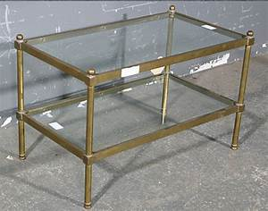 coffee table pictures examples ideas antique brass and With antique brass and glass coffee table