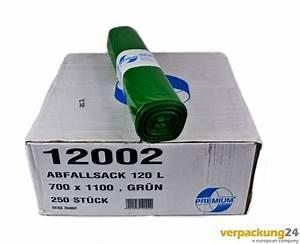 Müllsäcke 500 Liter : m lls cke m llbeutel abfalls cke 120 liter gr n kaufen ~ Watch28wear.com Haus und Dekorationen