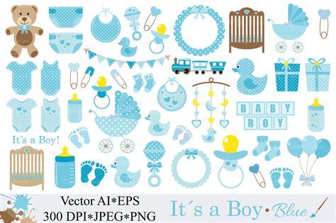 baby boy clipart blue baby shower clipart nursery clip