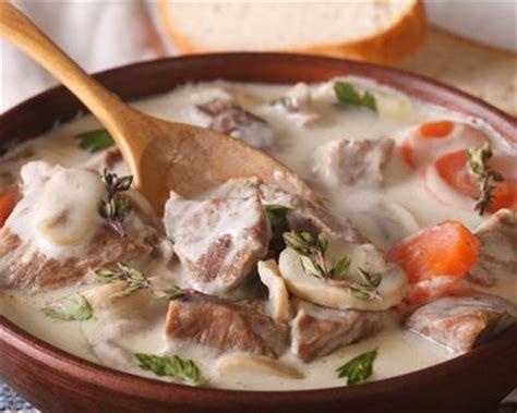 recette de cuisine blanquette de veau recette blanquette de veau à l 39 ancienne