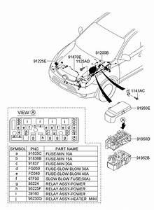 Hyundai Veracruz Wiring Assembly - Batt