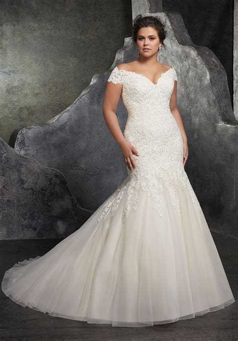 Kariana Plus Size Wedding Dress Style 3234 Morilee