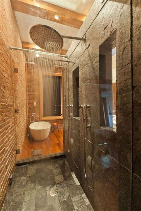 Cool Bathroom Designs With Brick Walls  Comfydwellingcom