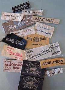 vintage fashion labels from a san francisco collection With cool clothing labels