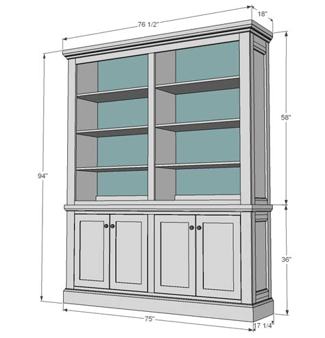 country style hutch woodworking plans woodshop plans