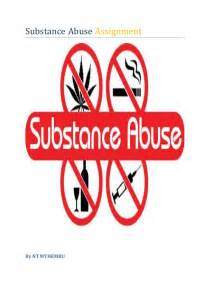 Substance Abuse Assignment