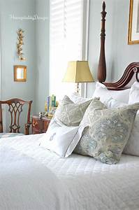 Almost, All, White, Bedding, A, Winter, Master, Bedroom