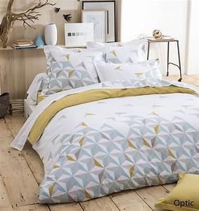 Housse De Couette Style Scandinave : linge de lit recherche google bedroom pinterest ~ Teatrodelosmanantiales.com Idées de Décoration