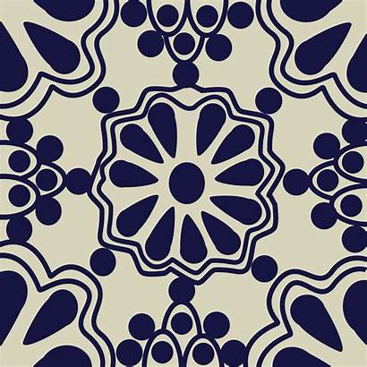 Tile Mexican Pattern Vector Clipart Svg