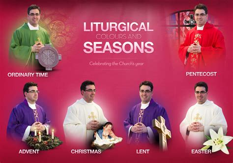 catholic colors together at one altar liturgical colours and seasons