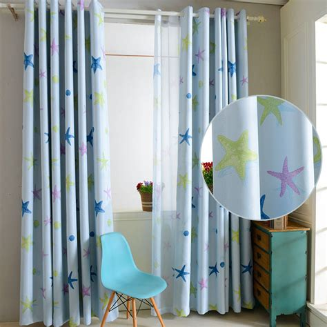 boy bedroom blackout curtains ring top patterned