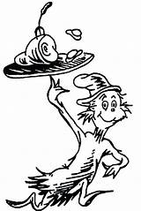 Seuss Dr Pages Coloring Printable Getcolorings Doctor sketch template