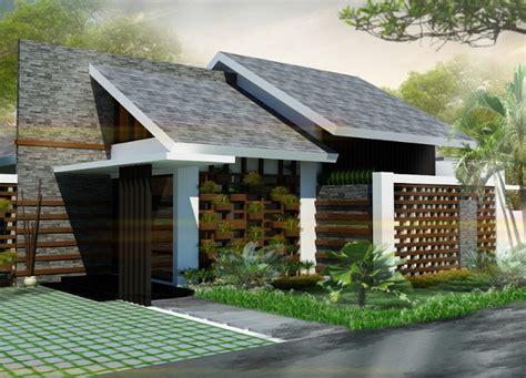 model atap miring rumah minimalis gambar desain model