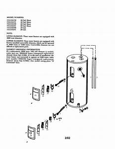 Kenmore Electric Water Heater Parts