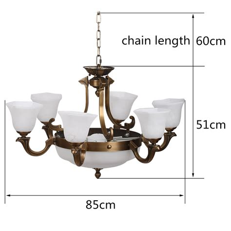 modern brass 6 3 light chandelier ceiling l living room