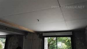 Faux Plafond Placo : prix d 39 un faux plafond devis gratuit ~ Melissatoandfro.com Idées de Décoration