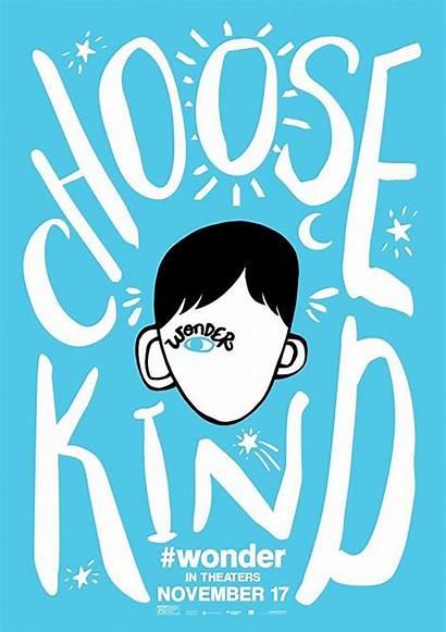 Wonder Kind Auggie Choose Poster Quotes