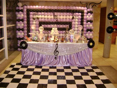 Music Party Decorations  Party Favors Ideas