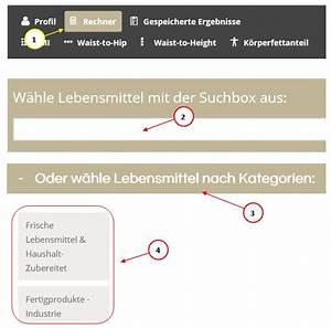 Kalorien Von Lebensmitteln Berechnen : wie kann ich inhaltsstoffe und zusatzstoffe von lebensmitteln berechnen lebensmittelrechner ~ Themetempest.com Abrechnung