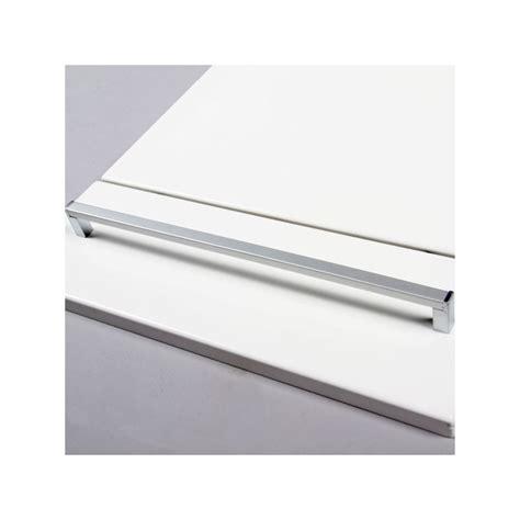 poignee meuble de cuisine poignée cuisine aluminium forme rectangle