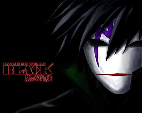 Anime Black Wallpaper - darker than black wallpapers wallpaper cave