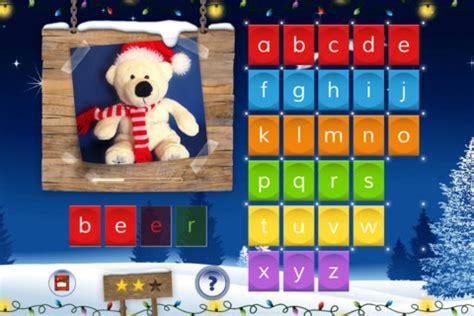 Winter Spelling Jigsaw 3