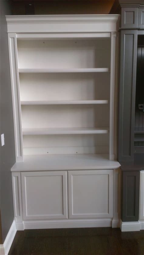 15 Photo Of Bookcase With Cabinet Base