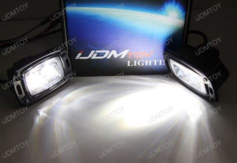 flush mount  cree led backup  driving pod lights