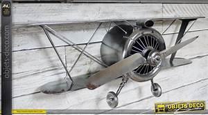 Hélice D Avion Déco : decoration murale avion ~ Teatrodelosmanantiales.com Idées de Décoration