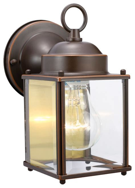 coach 1 light rubbed bronze outdoor downlight
